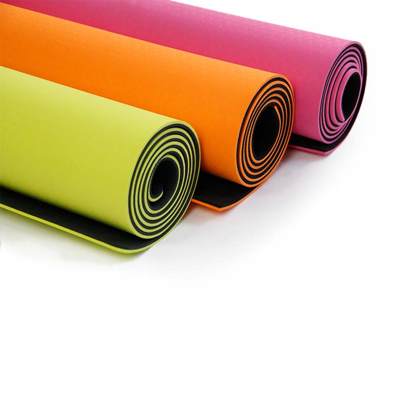 photo colorful mats fitness stock mat depositphotos