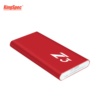 Hot KingSpec Type-c USB 3.1 Portable SSD 256 GB Red Metal Case HD External Hard Drive USB SSD For Notebook Server Free Shipping