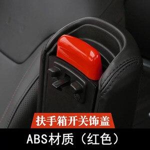 Marke Neue Für Jeep Renegade ABS Chrom Auto Innen Armlehne Box Hinten Schutz Platte Patch Abdeckung Trimmt Auto Styling Auto zubehör