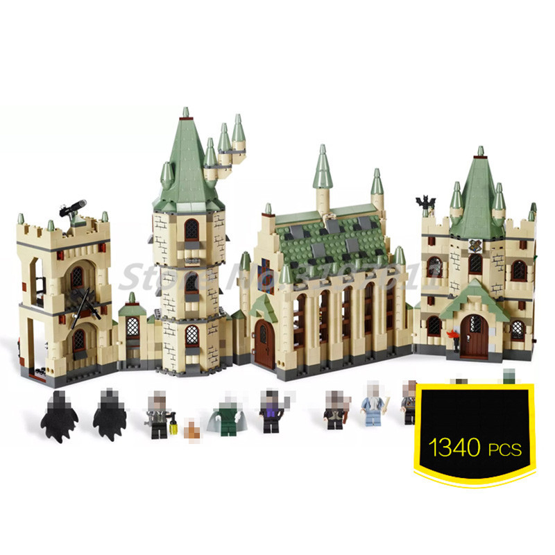 The Hogwarts Castle School Building Blocks Bricks 16030 Model Creative Movies Educational Toys For Children Gifts kl069 single sale the x files agent vol 1 uma thurman the bride bricks building blocks figures for children gifts toys kl9011