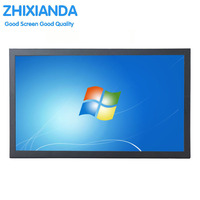 15 6 Inch 1366x768 16 9 1080P VGA HDMI BNC Metal Case LCD Monitor USB Monitor