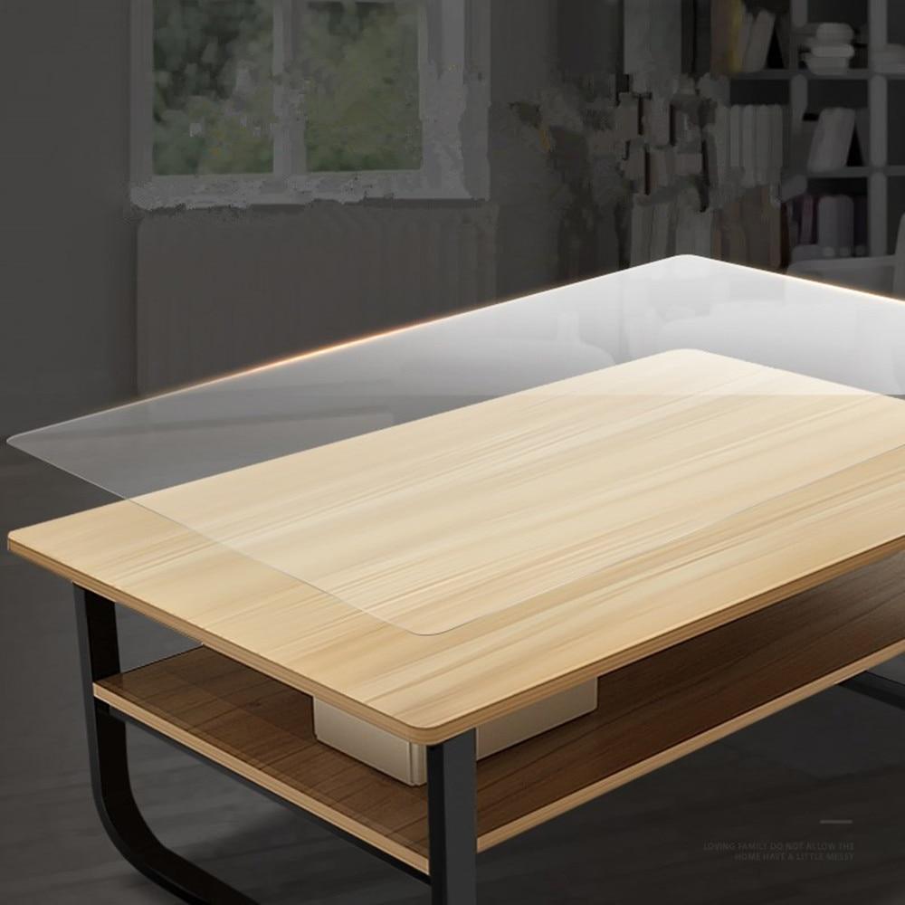 Прозрачная глянцевая защитная пленка против царапин, 2 мил, наклейки на стол, мебель, Кухонное украшение, разные размеры
