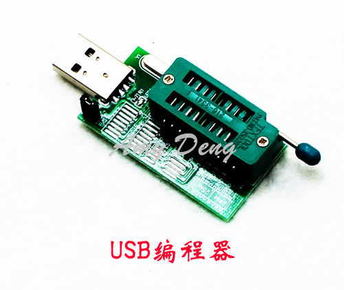 CH341A 24 <font><b>25</b></font> USB programmer router DVD motherboard graphics brush BIOS writer (C2B1) image