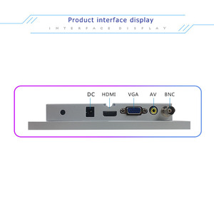 Image 4 - 7 inch white BNC LCD monitor medical equipment industrial equipment computer monitor HDMI mini screen