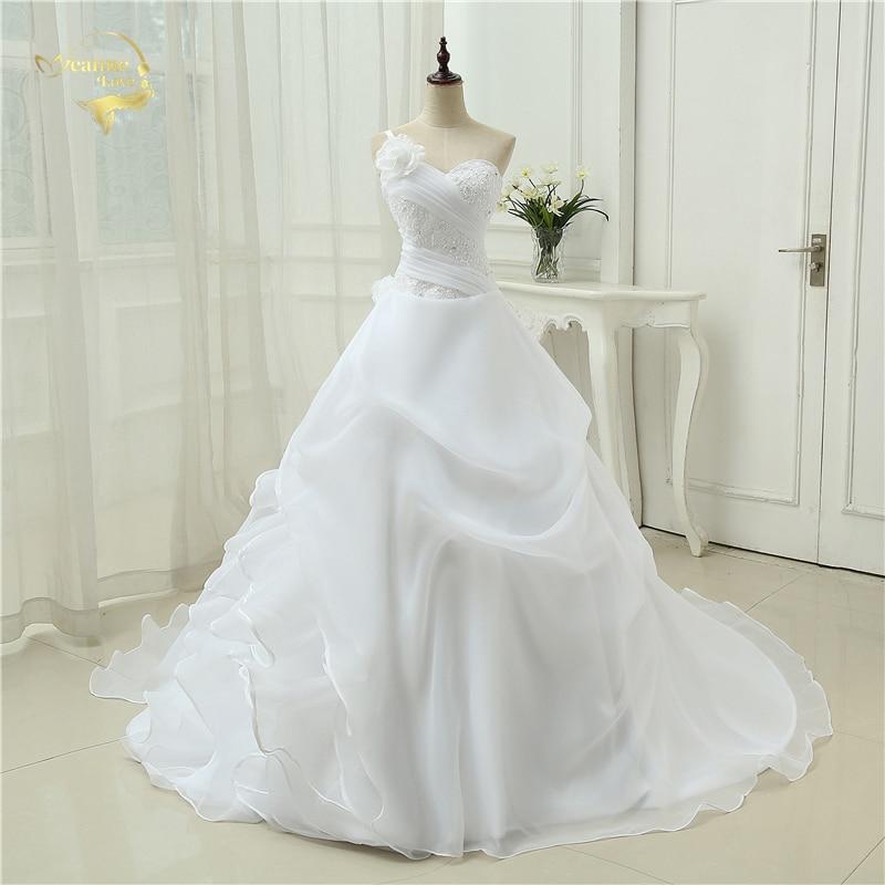Robe de mariée à dentelle
