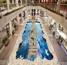 painting 3D Photo floor