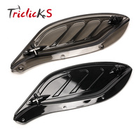 Triclicks МОТОЦИКЛ ABS Пластик боковые крылья обтекатель воздушные дефлекторы автомобиля-Обложка для Харли-стрит Glide Electra glidetouring 96- 13