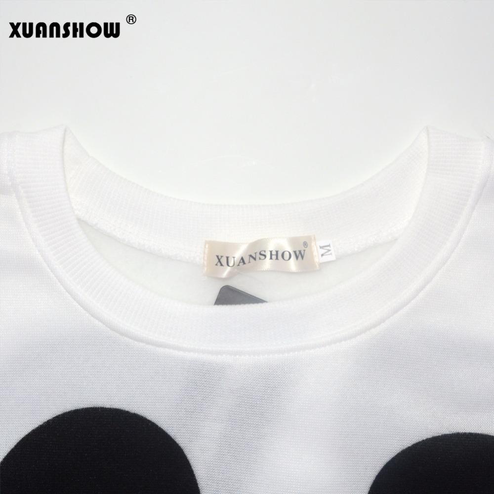 XUANSHOW 19 Women Sweatshirts Hoodies Character Printed Casual Pullover Cute Jumpers Top Long Sleeve O-Neck Fleece Tops S-XXL 12