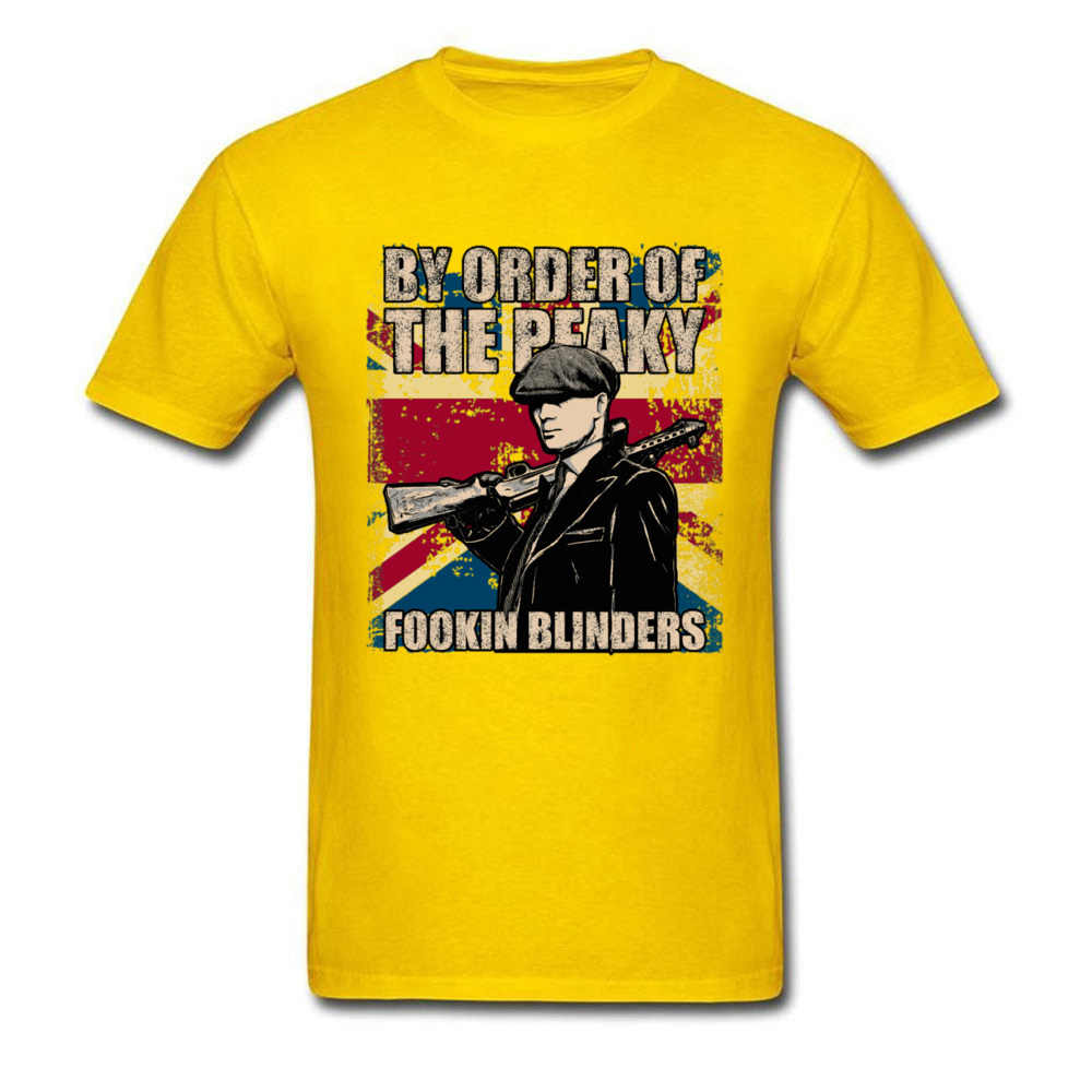 Mais recente camiseta masculina peaky blinders tv t camisa homem tshirt preto por encomenda do peaky fookin blinders funky masculino streetwear algodão