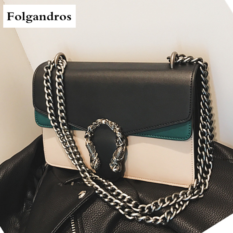 Fashion Chain Casual Shoulder Bag Messenger Bag Retro Hit Color Women Bag\Handbag Ladies' Flap Motorcycle Bag Luxury Brand Purse canpol babies ножницы детские цвет голубой
