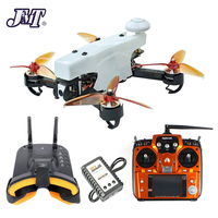 JMT 210 FPV Racing Drone Quadcopter RTF with Radiolink AT10II TX RX FPV Goggles 100KM/H High Speed 5.8G FPV DVR 720P Camera GPS