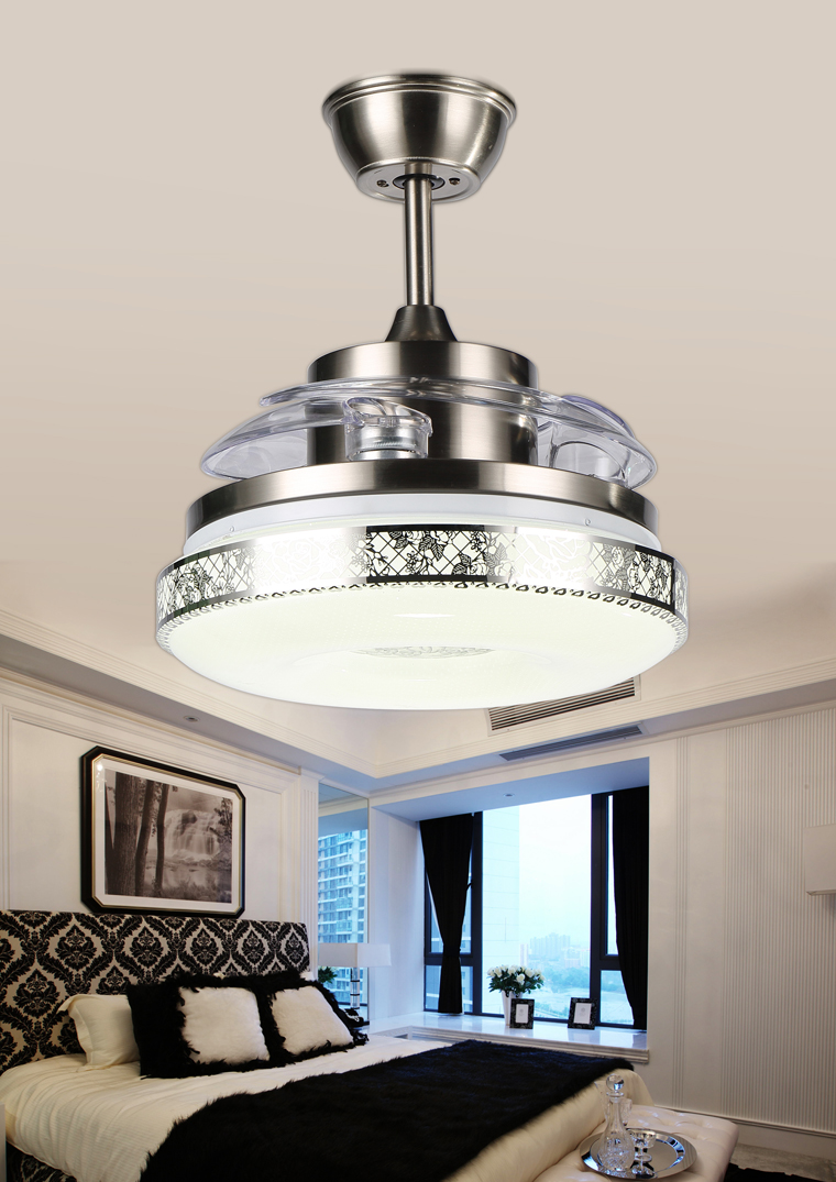 Modern led ceiling light fan with remote control ceiling - Modern living room ceiling lights ...