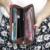 Señoras Monedero Largo Femenino Carpeta Cero Bolsa de Mano de Las Mujeres Monederos Bolso de Las Mujeres Clips Dinero Tarjeta de bolsa Para Las Mujeres dinero