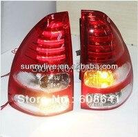 Prado FJ120 LED Фонарь для TOYOTA 03 08 красный, белый Цвет V2 Тип