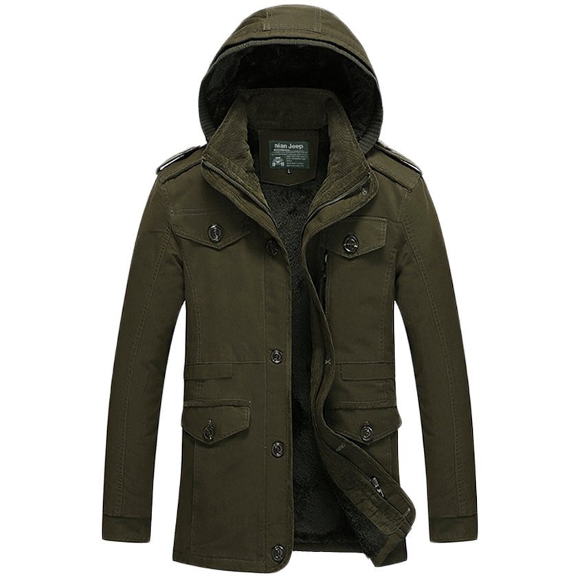 Free shipping new 2017 Wintet Casual Mens winter Coats Outwear Military Man thick Cotton Jackets, Winter Jacket Men Parka 114hfx