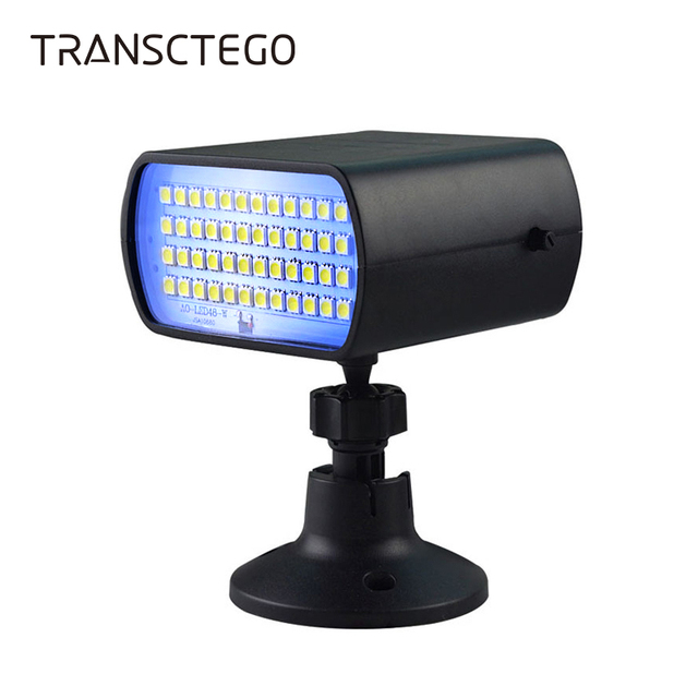 48 LED Disco Light Strobe LaserStage Light DJ Flash Soundlight Christmas  Sound Control Disco Lamp For Club Show Home Party Light-in Stage Lighting