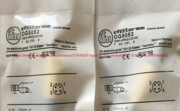 Otomobiller ve Motosikletler'ten ABS Sensörü'de OG5053 Fotoelektrik anahtarı dağınık yansıma fotoelektrik anahtarı PNP normalde açık su geçirmez sensör title=