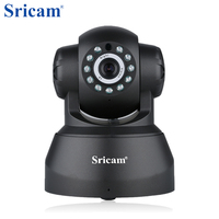 Sricam SP012 Wireless IP Camera 720P Wifi Pan Tilt Surveillance IPcam P2P Baby Monitor Support SD