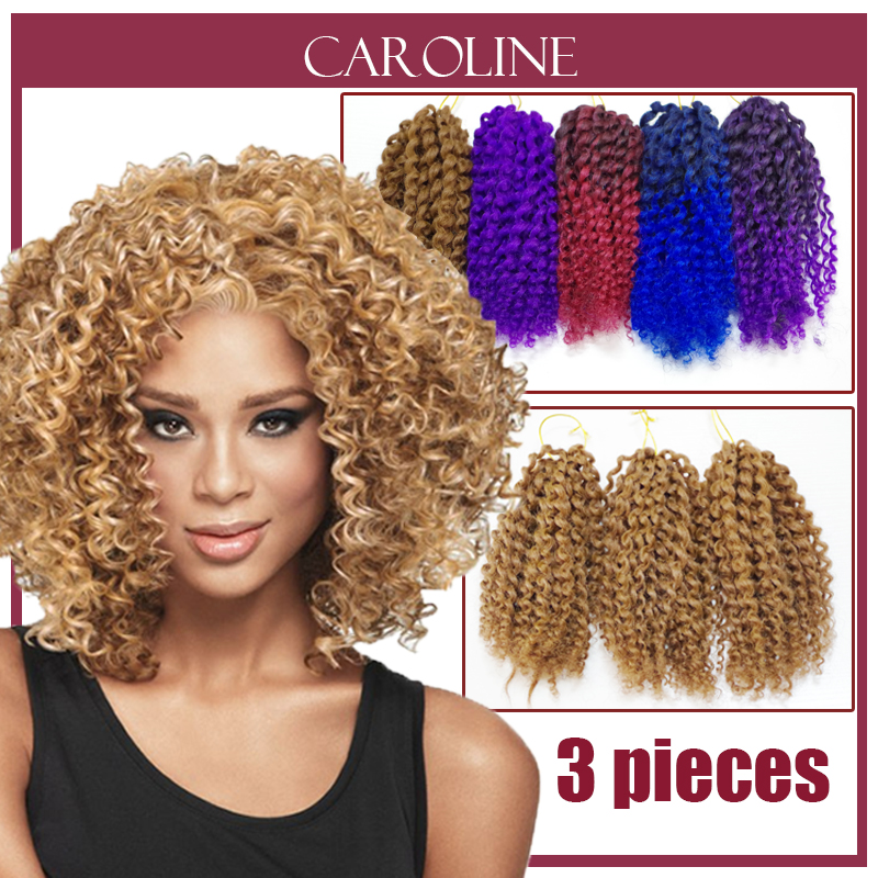 Crochet Hair Order : Buy Kinky Curly Hair For Women Havana Mambo Twist Crochet Braids Hair ...