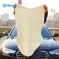 Frete grátis de limpeza toalha camurça camurça de couro de pele de carneiro genuína absorvente toalha de lavagem de carro