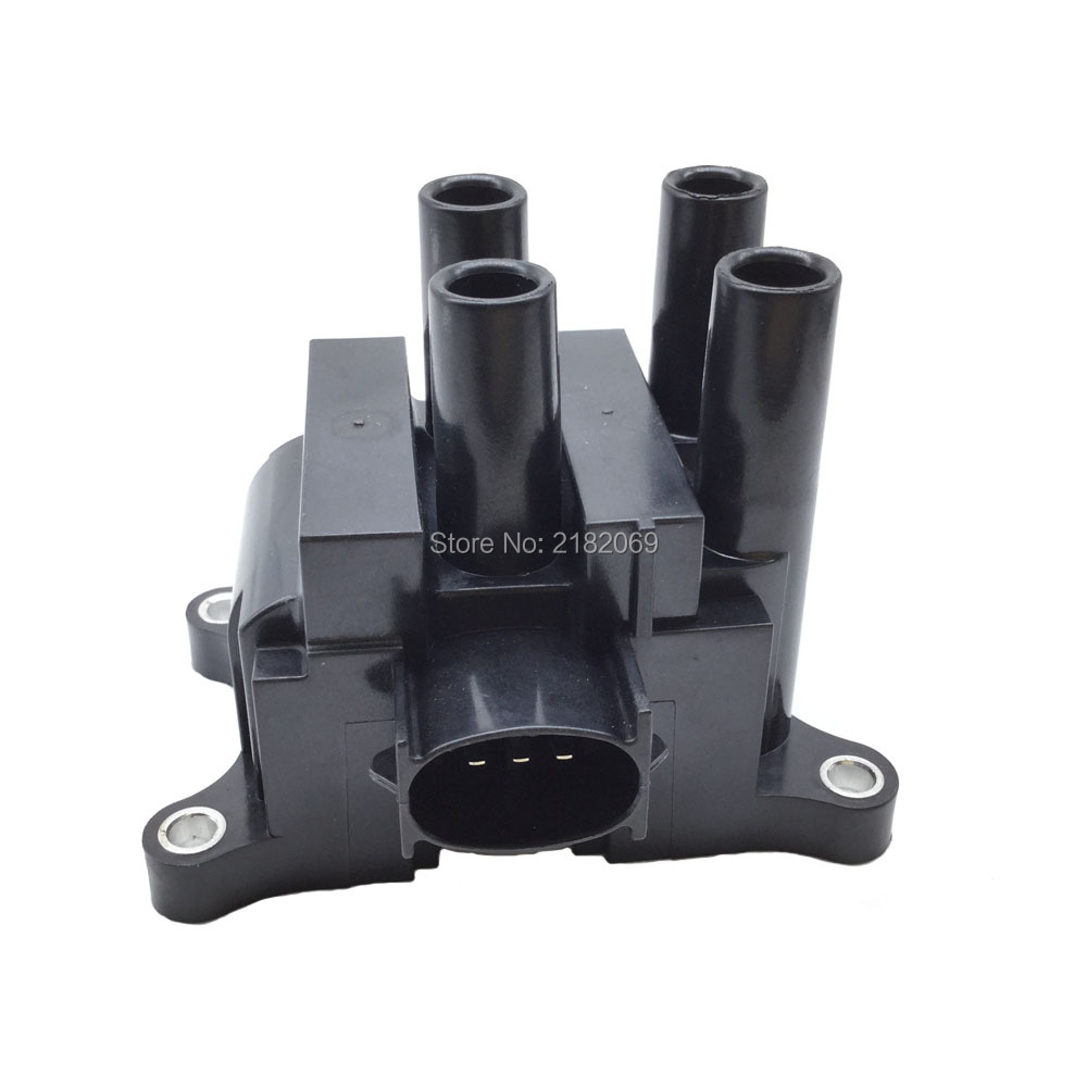 Ignition coil for mazda ford cougar courier escort fiesta mk focus fusion ka maverick mondeo puma