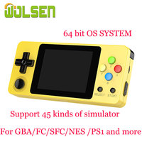 WOLSEN 2.6 Inch Handheld Game Console TONY RETRO FW SYSTEM LDK game Mini Retro Family Portable Game Support Add Game By yourself