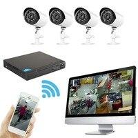 Nuevo Super 4CH 2MP AHD DVR grabador de vídeo digital de seguridad cctv Cámara ONVIF red 16 canal IP HD 1080 P NVR alarma del email
