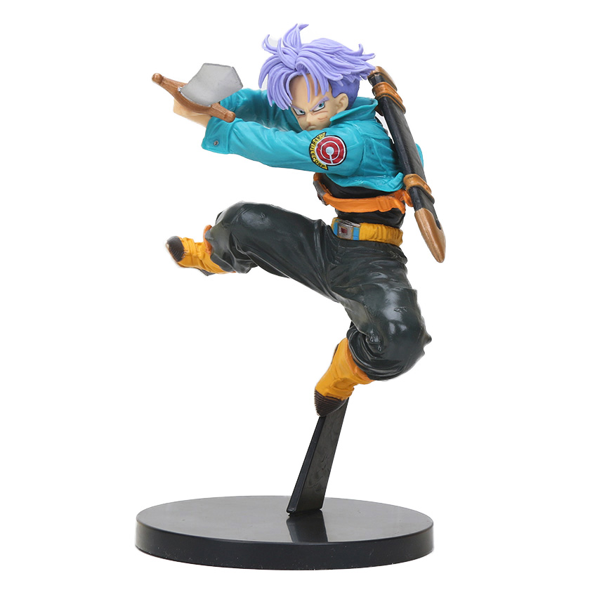 DXF Dragon Ball Z Scultures Big 12cm Future Trunks Action Figure Collection Model   Figuras Dragonball GT Toys brinqudoes bebe 1