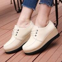 Dwayne/весенние женские мокасины на плоской подошве; модная обувь на плоской платформе; женские лоферы; Осенняя женская обувь на плоской подош...