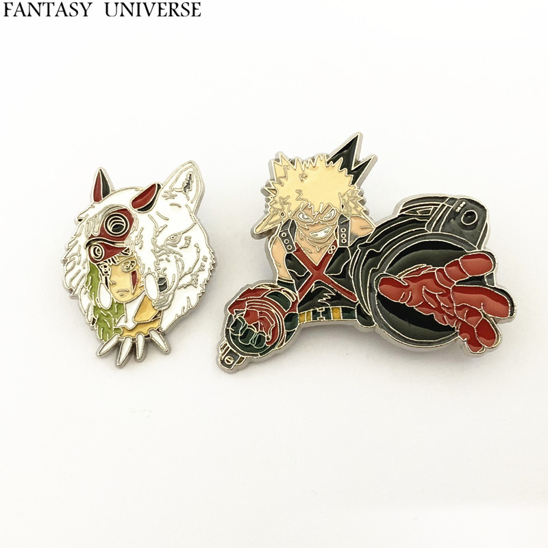 FANTASY UNIVERSE Freeshipping wholesale 20PC a lot My Hero Academia brooch HRSKSSKD03