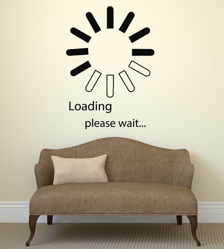 Aliexpress.com : Buy Video Game Loading Vinyl Wall Stickers Decal Computer  IT Design Bedroom Decor Wall Sticker Personality Pattern Wallpaper SA245  From ...