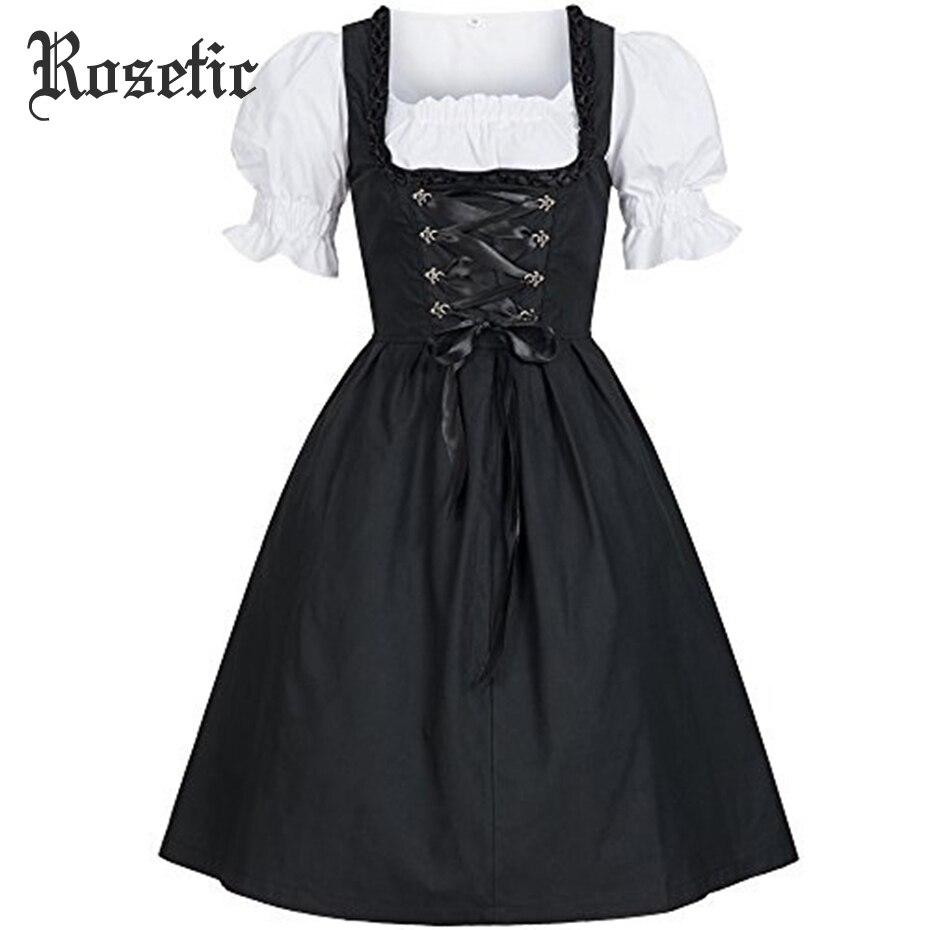 Rosetic Gothic Lolita Kleid Plus Größe Vintage Frauen Süße Bogen Nette Mädchen Kühlen Sexy Schlank Partei Maiden Harajuku Goth Casual kleider