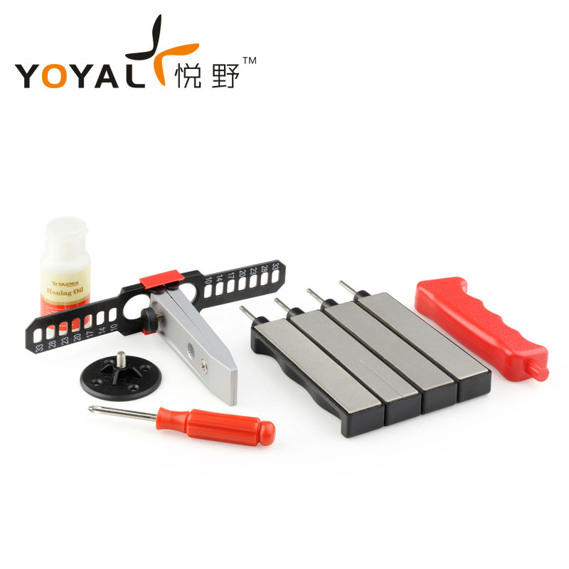 TAIDEA diamond precision sharpening system with 4 diamond rod for outdoor font b knife b font