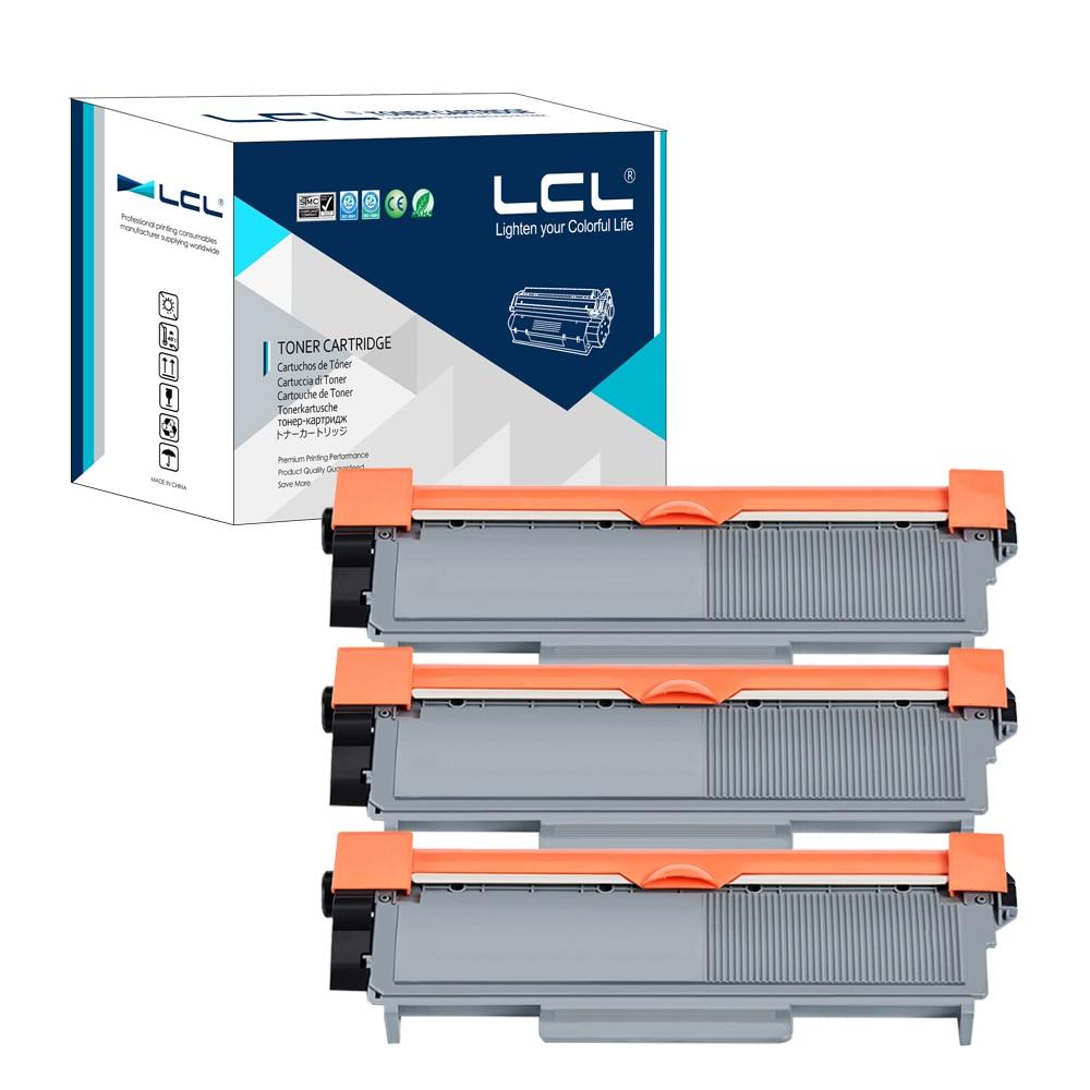 ФОТО LCL TN2350 TN2330 TN 2330 TN 2350(3-Pack Black) Toner Cartridge Compatible for Brother HL-L2300 2360 2340 2320DHL-L2360 HL2380
