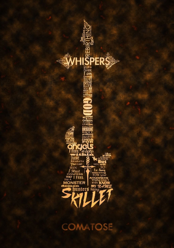 Skillet Christian Rock Band Pop 24x36 Inches poster image