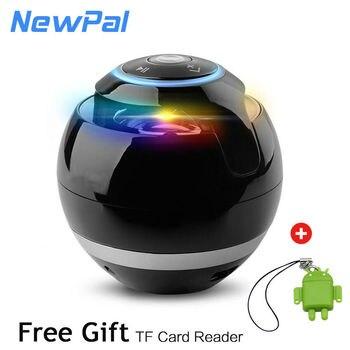 Bluetooth mini loa receiver boombox fm đài phát thanh xách tay caixa de som khuếch đại mp3 loa siêu trầm với mic loa