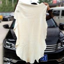 Натуральная кожа с защитой автомобиля ткань для чистки Авто мойка замша абсорбент быстросохнущая ткань для мытья автомобиля