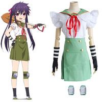 Ebisuzawa Kurumi Cos Anime Gakkou Gurash SCHOOL LIVE Cartoon Halloween Party Cosplay Man Woman Cosplay Costume