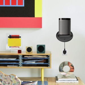 Image 5 - Настенное крепление для Sonos Google Home Google WiFi безопасности держатель для камеры Bulit in кабель управления экономия пространства 2 пакета