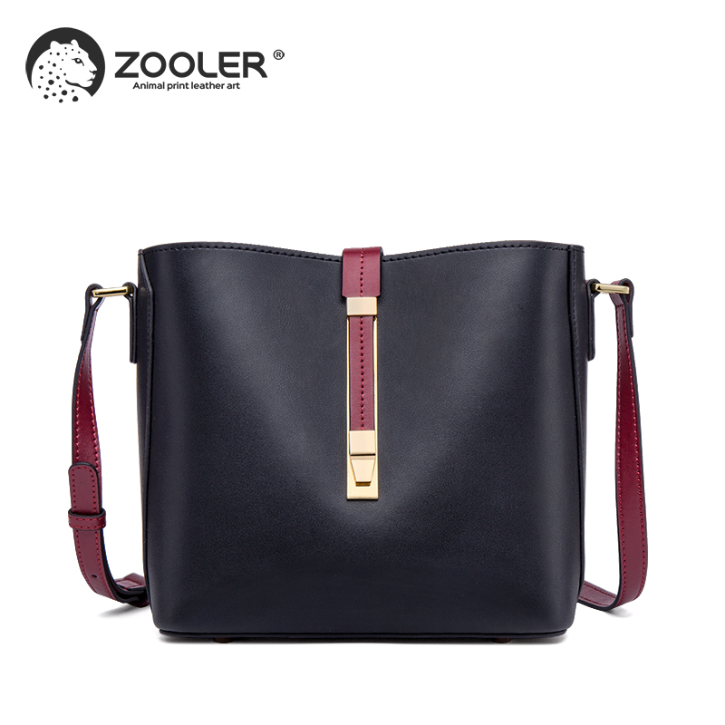 ZOOLER 2019 new soft real leather bags women Cow leather tote women shoulder messenger bag cross
