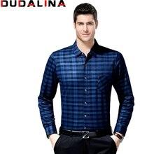 camisa social masculina slim fit dudalina