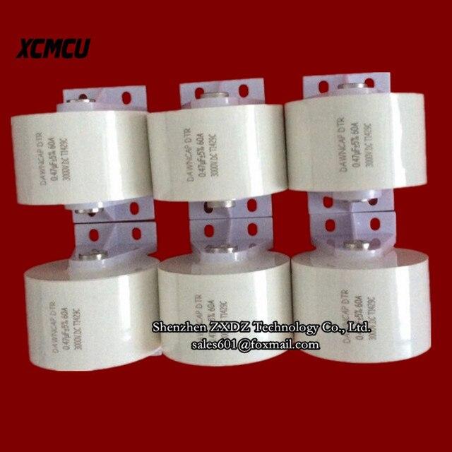 Dtr 0.25 мкФ 3000VDC 2500VAC резонансный конденсатор 60A Красный меди высокой частоты конденсатор