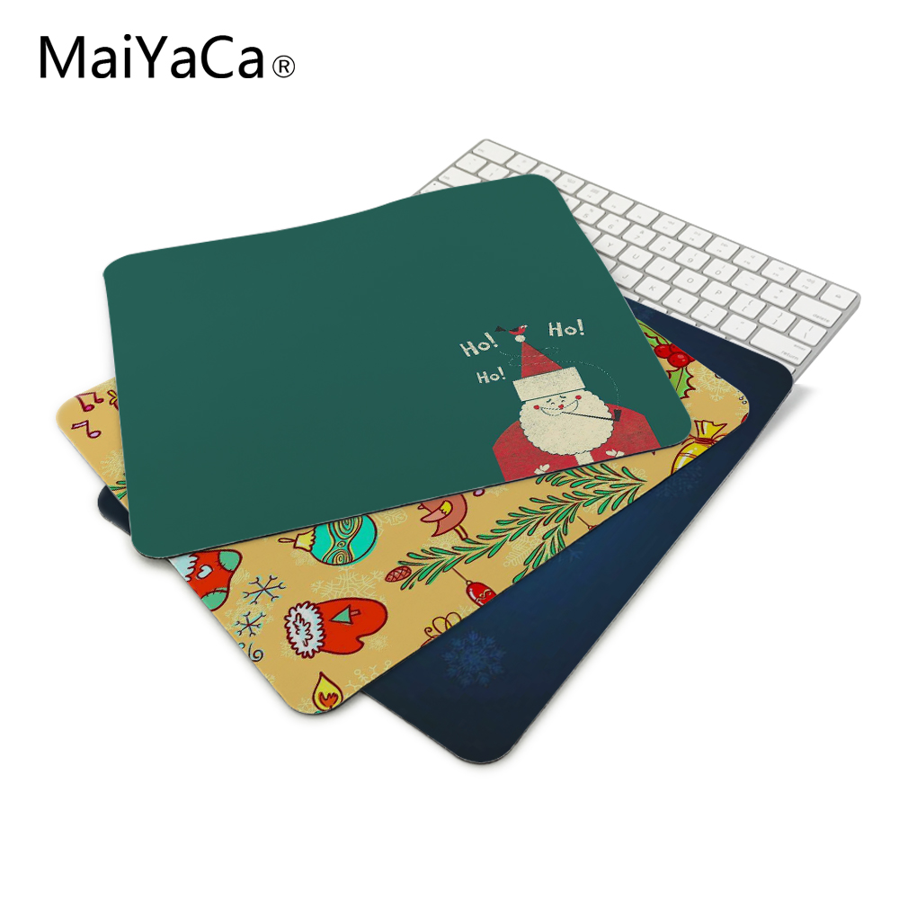 Santa Claus snowman penguin Mouse Pad Christmas Decorations For Home Game Keyboard Laptop Computer Pad Xmas Party table decor