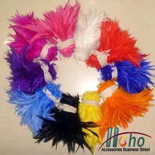 Free Shipping Hot sale Mixed Color 4-6 200pcs/lot Schlappen Rooster Hackle Feather