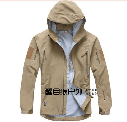 TAD military tactical jacket waterproof for men Raptor Hard sharkskin Jackets outdoor wind and waterproof rain jacket