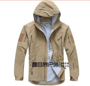 TAD military tactical jacket waterproof for men Raptor Hard sharkskin Jackets outdoor wind and waterproof rain jacket