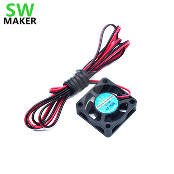 SWMAKER TEVO Tarantula 3D printer 12V brushless mute cooling micro fan 3010 DC 12V Brushless Cooling Cooler Fan 100mm cable image