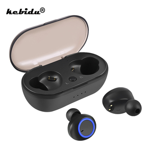 Image 1 - kebidu TWS Bluetooth 5.0 Earphone Wireless Mini Headphones Bass Headset with Microphone Sports Earbuds for Xiaomi iPhone