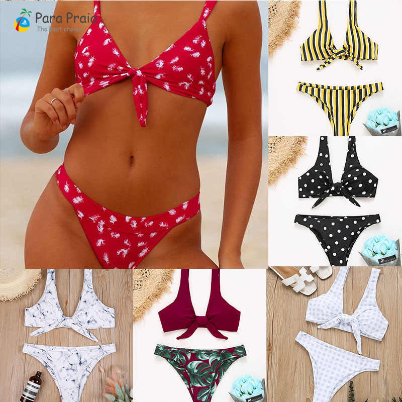 f3c5e0ddb06 2019 Spring Summer Sexy Brazilian Bikini Micro Push Up Bikini Set Tie  Swimsuit Bathing Suit Women