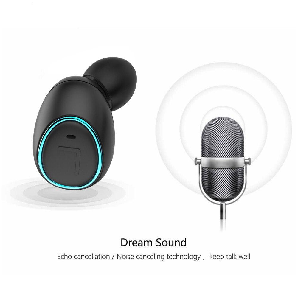 Aliexpress Com Buy Htk18 Tws Mini Invisible Headphones: HTK18 TWS Invisible Mini Headphones 3D Stereo Hands-free
